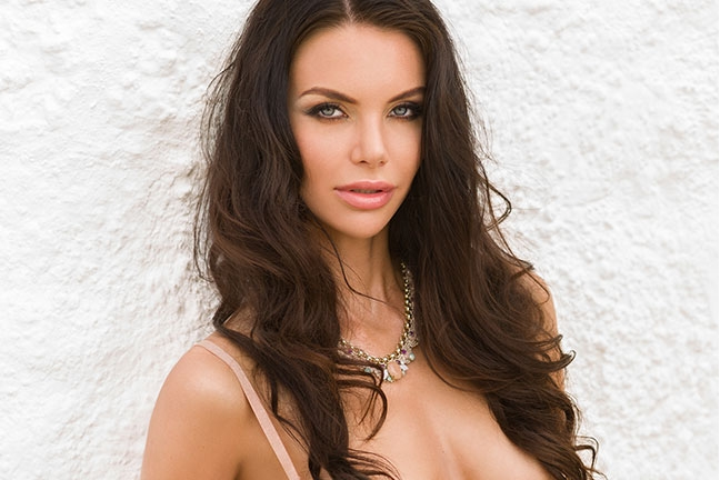 Olga Rom in Playboy Czech Republic
