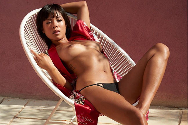 Than Nhan Hoang in Playboy Germany