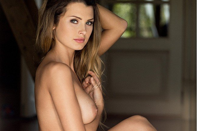 Klaudia Skogmo in Playboy Poland