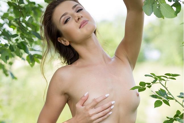 Elina Love in Field Day