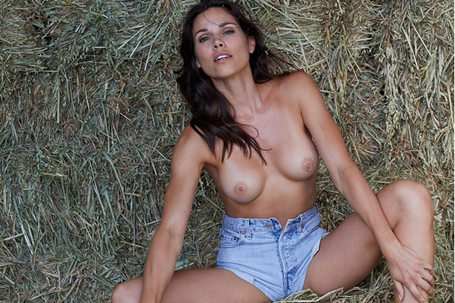 Katerina Giannoglou in Playboy Germany