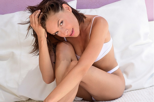 Olivia Peltzer in Playboy Germany