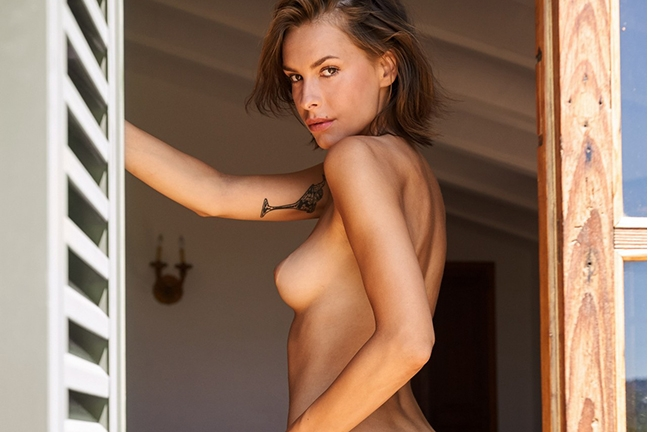 Olivia Peltzer in Playboy Germany