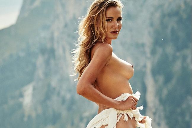 Julia Prokopy in Playboy Germany