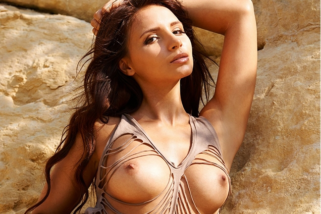 Antonia Petrova in Playboy Germany