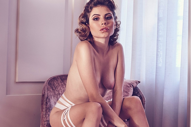 Chiara Arrighi in Playboy Germany