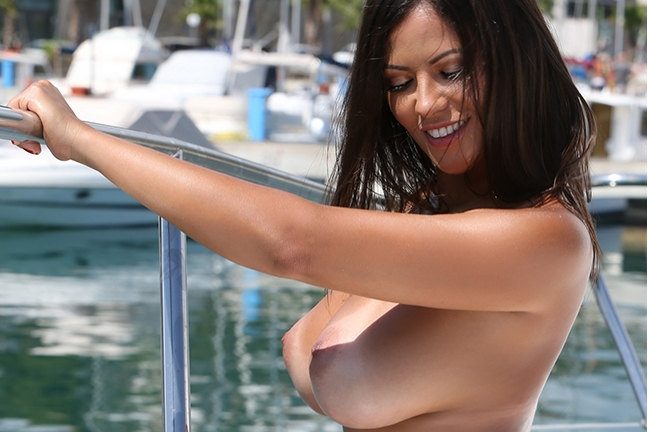 Fabiana Britto in Playboy Portugal