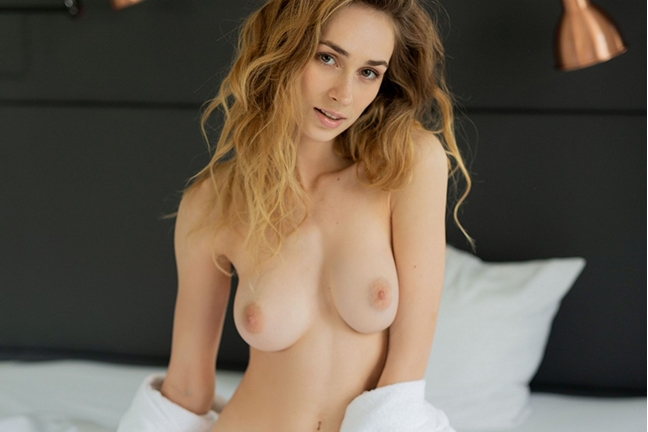 Yana West in Morning Heartbeat