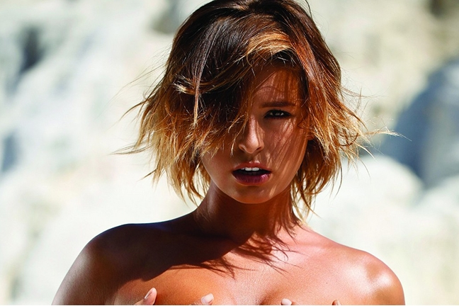 Marisa Papen in Playboy Portugal