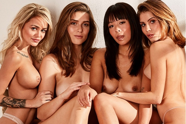 Playboy Germany Cover Shoot