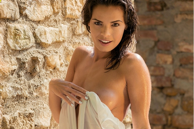Natalie Costello in Sublime Shower