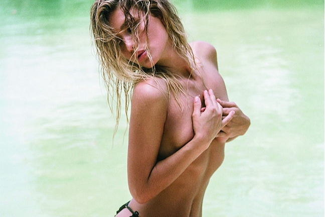 Tara Lynn in Caribbean Sands