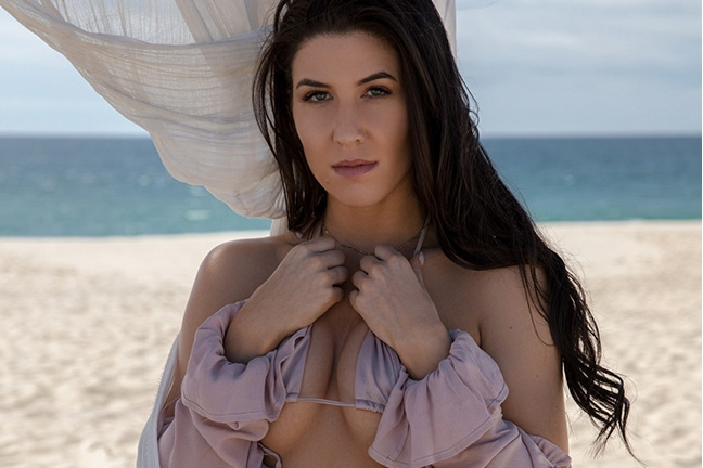 Carmen Nikole in Sizzling Sands