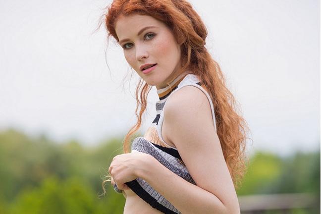 Heidi Romanova in Great Form