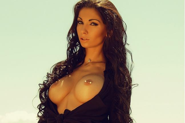 Kristina Kazakova in Playboy Bulgaria Vol. 2