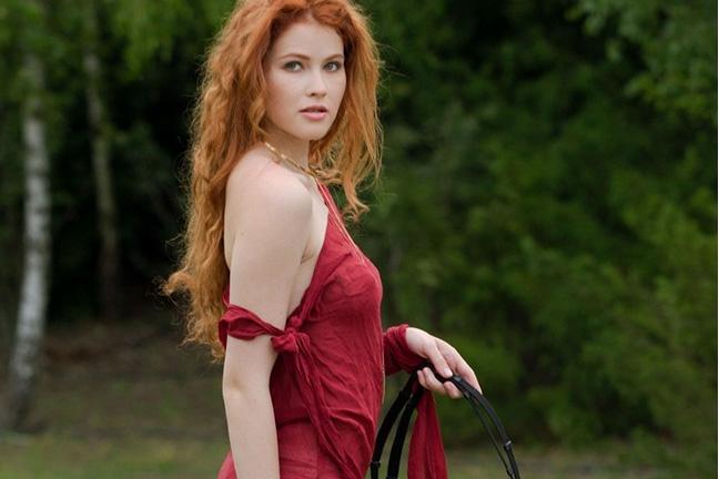 Heidi Romanova in Take the Reins