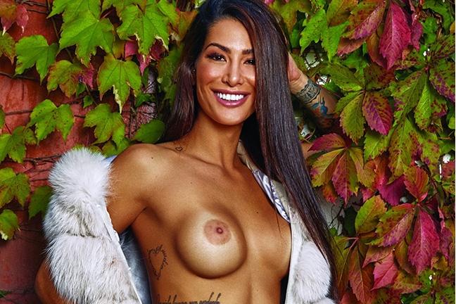 Poliana De Paula in Playboy Portugal