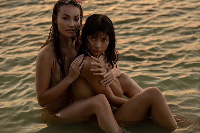 Cara and Elilith in Within Reach