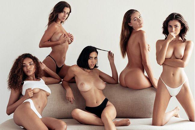 Kat, Samantha, Devin, Verity, and  Natasha in Homecoming