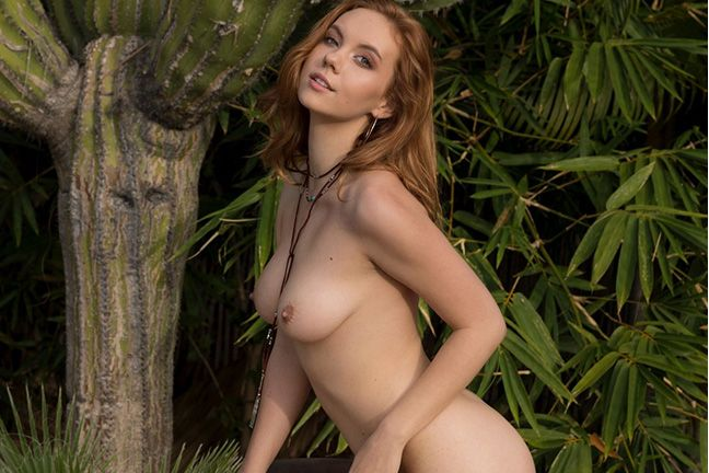 Kayla Coyote in Natural Wonder