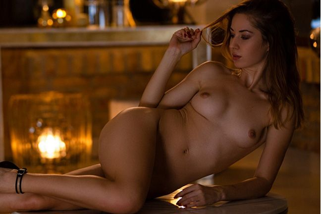 Diana Lark in Provocative Beauty