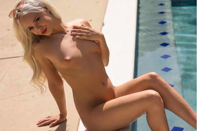 Elsa Jean in Red Heat