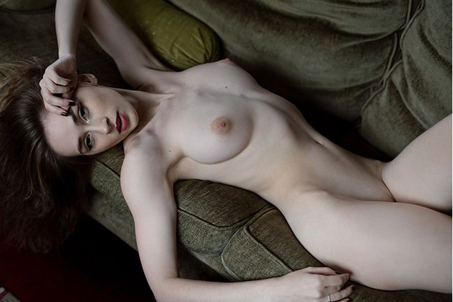 Yana West in Shadow Seduction