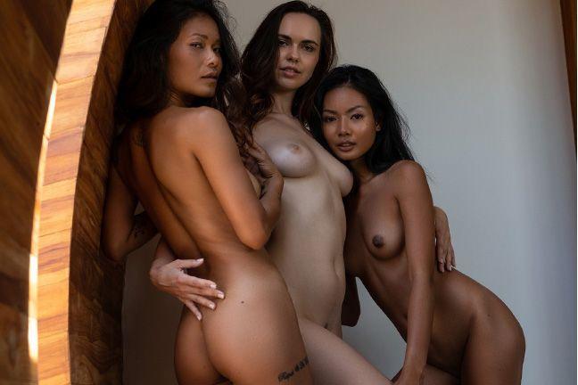 Jana, Magen and Maki in Love Triangle