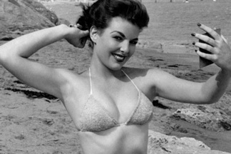 Playmate of the Month April 1956 - Rusty Fisher