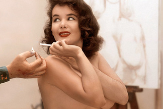 Playmate of the Month November 1956 - Betty Blue