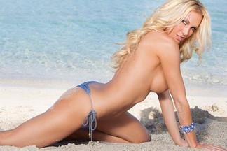 Jennifer Vaughn in Ocean Blue