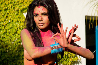 Sherlyn Chopra in Bollywood Goddess