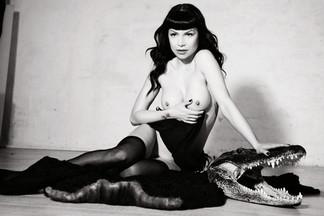 Stasha Lee in Playboy Croatia