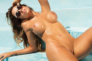 Leonela Ahumada in Playboy Argentina