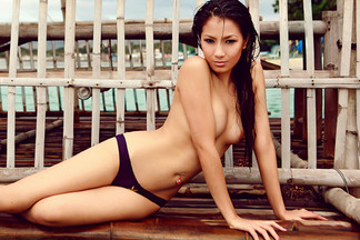 Gypsy Sarcon in Playboy Philippines