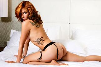 Sandra Vidovic in Playboy Serbia