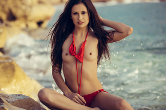 Demi Fray in Rocky Shores