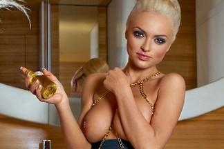 Andrea Vrhovec in Playboy Slovenia