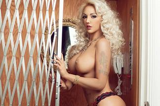 Alexandra Harra in Playboy Romania