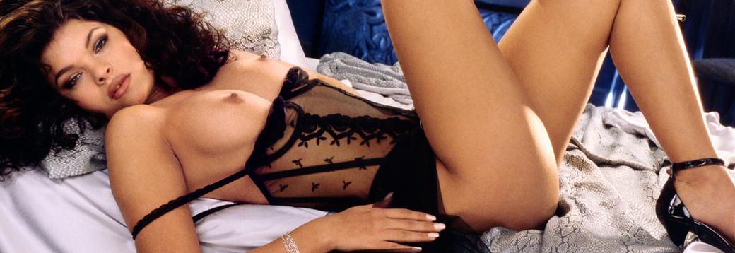 A slender blonde milf with pierced nipples