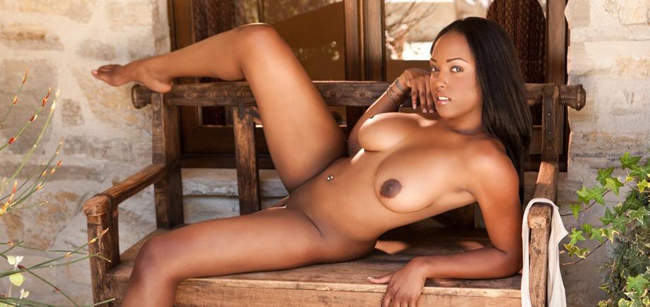 moore Nude playboy monique model